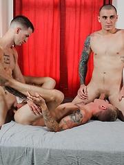 Alex, Quentin Gainz and Ryan Jordan