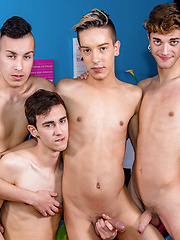 A Dreamy Twinks Orgy