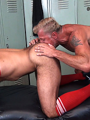 Sterling Takes Peters Raw Cock