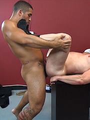 Daddy Hans Berlin Takes Treys Raw Cock