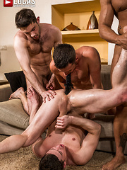 BEN BATEMEN, BROCK MAGNUS, RUSLAN ANGELO, DAMON HEART