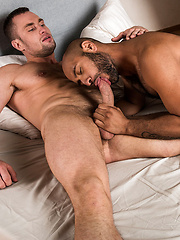 LEO FORTE WORSHIPS STAS LANDON'S BULGING MUSCLES