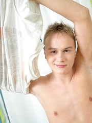 Twink anal toy play for sexy Kasper