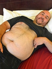 Rob Rider was eager to show off his massive dick for us