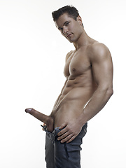 Special new set of images of one of most iconic models, Lukas Ridgeston