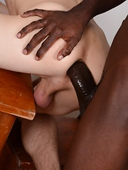 Lost For Words? Kurt Maddox Lets His Ass-Hole Do The Talking On A Big Black Uncut Monster!