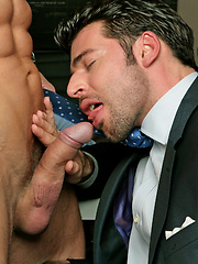 Tomas wants it right now with his favourite 'office-sub' Dario Beck
