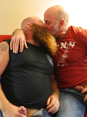 Beefy Daddy Nate Pierce and Ginger Giant Rusty G