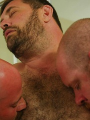 Andrew Mason is the wet sticky center of a bareback sandwich!