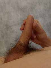 Truly adorable tattooed boy Hantel has messy, dark hair and a beautiful skill of stroking his ...