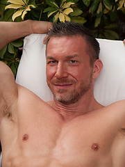 In his mid 40s, Tomas Brand is arguably one of the sexiest, manliest and beefiest pornstars coming out of Europe