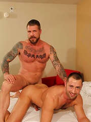 Rocco Steele and Donnie Dean
