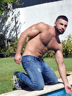 gay porn Abraham Al Malek